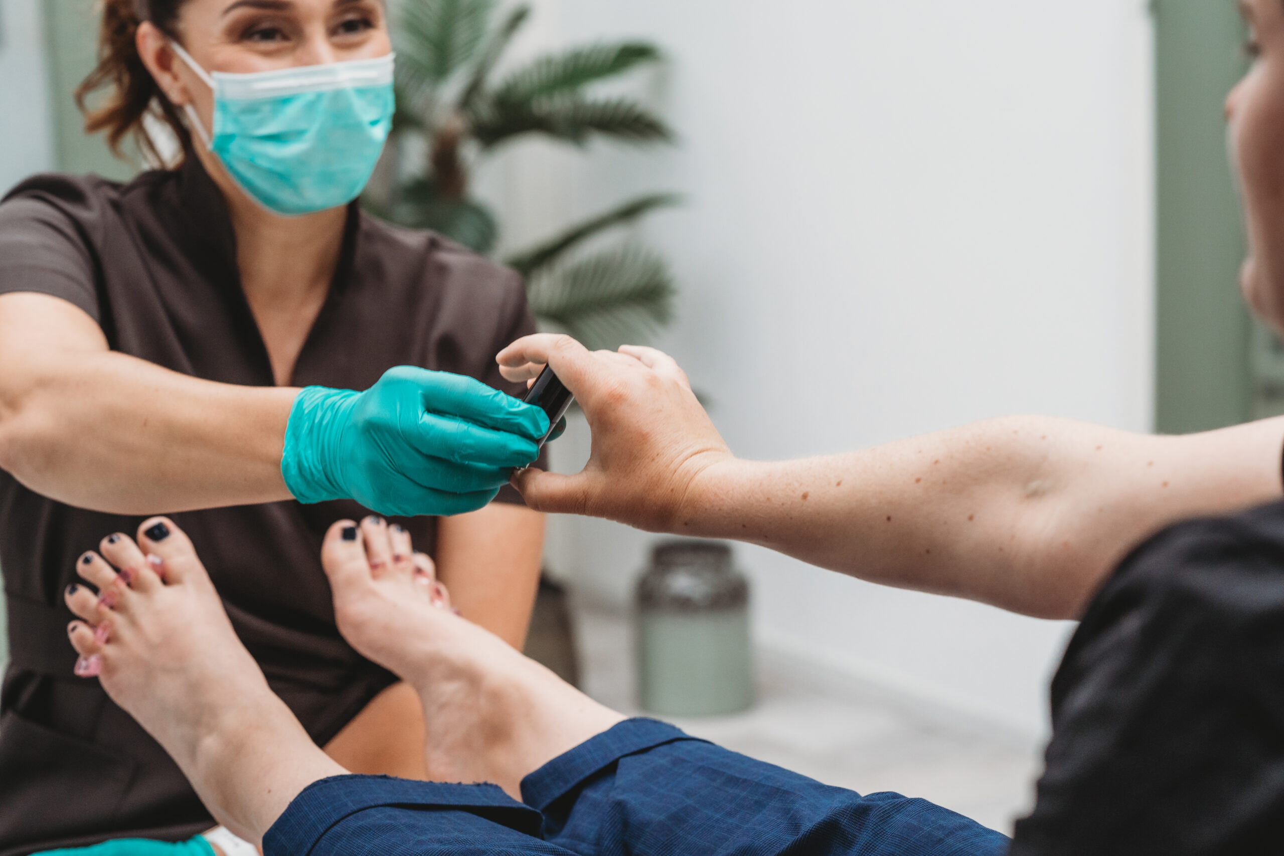 Medisch Pedicure werk